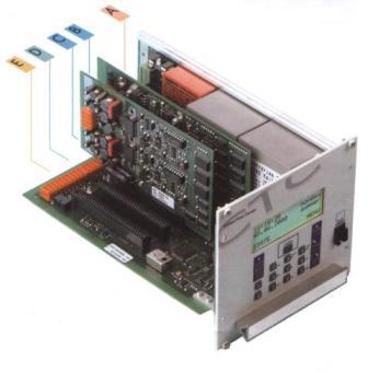 Часовая станция MOBATIME серии CTC, системный блок